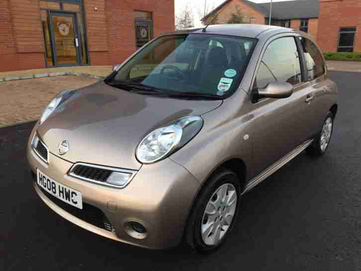 NISSAN MICRA 2008 ONLY 22,900 MILES - EXCELLENT CONDITION