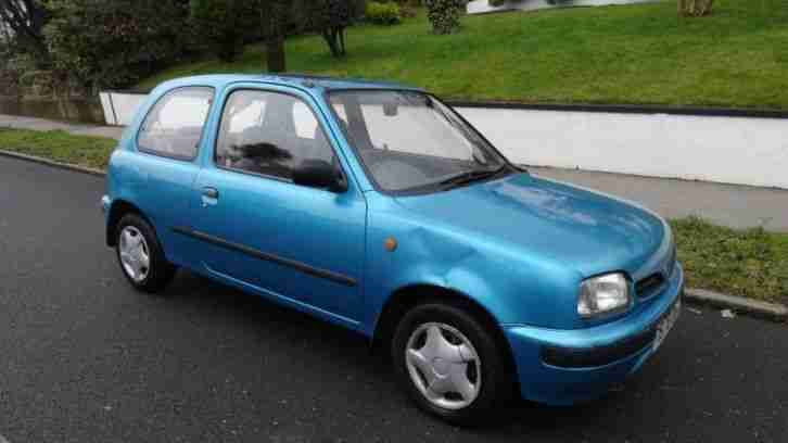 nissan micra gx 16v 1998 petrol manual in blue car for sale. Black Bedroom Furniture Sets. Home Design Ideas