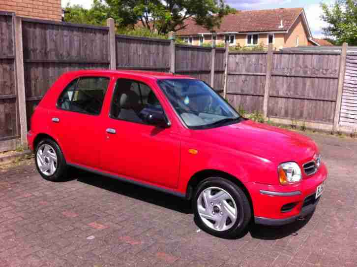 NISSAN MICRA S 1.0 16V 5 DOOR LOW MILES FULL SERVICE HISTORY NEW CLUTCH