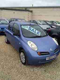 MICRA S 2003 Petrol Manual in Blue