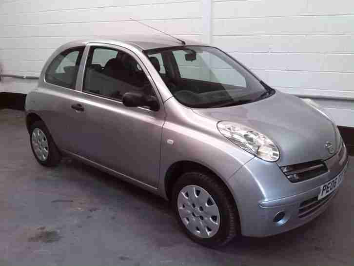 Verbazingwekkend Nissan MICRA S SILVER 2006. car for sale QN-94
