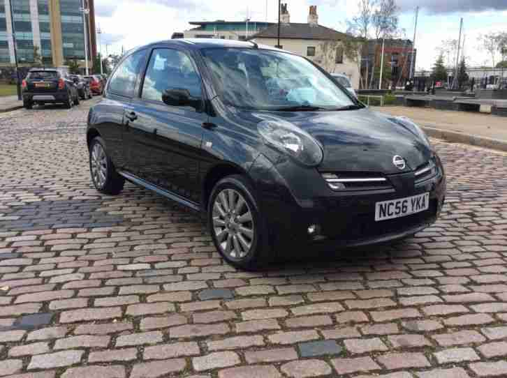 nissan micra sport sr 1 6 56 2007 plate black 50000 miles. Black Bedroom Furniture Sets. Home Design Ideas
