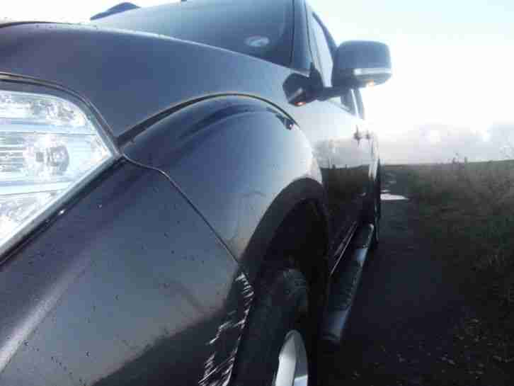 NISSAN NAVARA 2010 10 plate latter model double cab 43328 miles