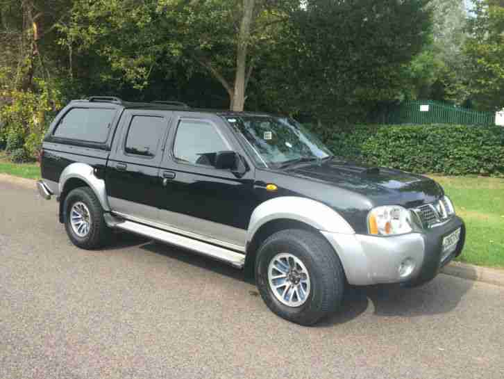 Nissan Navara Double Cab Pickup 2003 53 Low Mileage Car