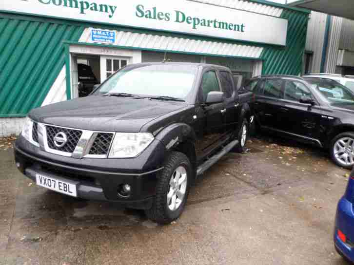 NISSAN NIVARA 4X4 DOUBLE CAB PICK UP