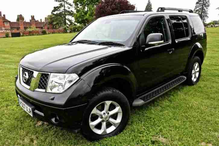 NISSAN PATHFINDER ADVENTURE DCI FULL SERVICE HISTORY SERVICED 7 TIMES