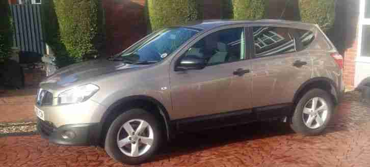 NISSAN QASHQAI 1.5 DCI DIESEL 2010 60 FACELIFT MODEL RARE FACTORY REAR DVDS FSH