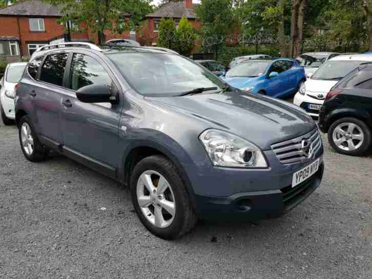 NISSAN QASHQAI VISIAI+2 2.0 2KEYS 8 MONTH MOT 3 MONTH WARRANTY 2 FORMER OWNERS