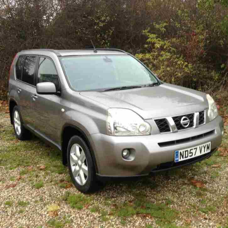 Nissan X TRAIL. Nissan car from United Kingdom