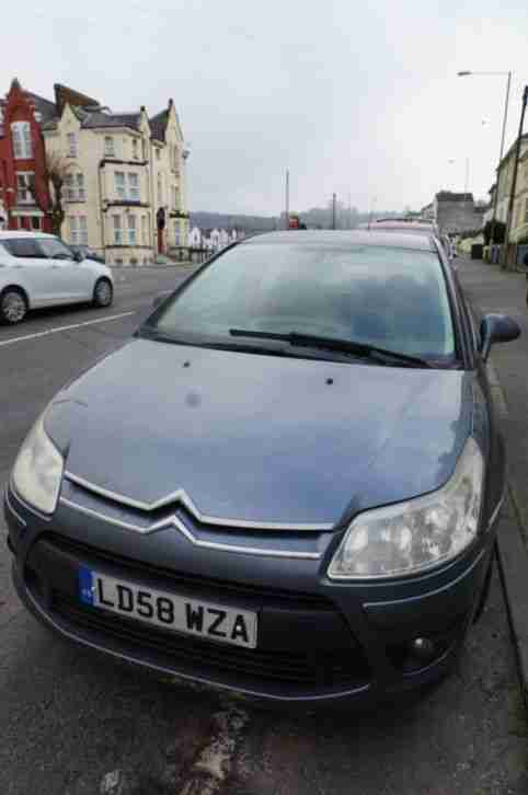 NO RESERVE 2008 CITROEN C4 SX AUTO GREY SCRAP OR REPAIR