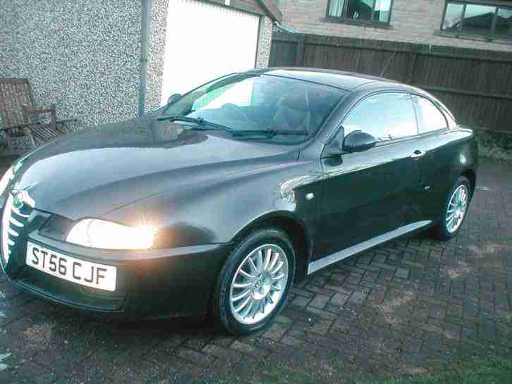 NO RESERVE 56 ALFA ROMEO GT 1.9 JTDM DIESEL 6 SPEED MANUAL SPORTS COUPE ONLY 83K