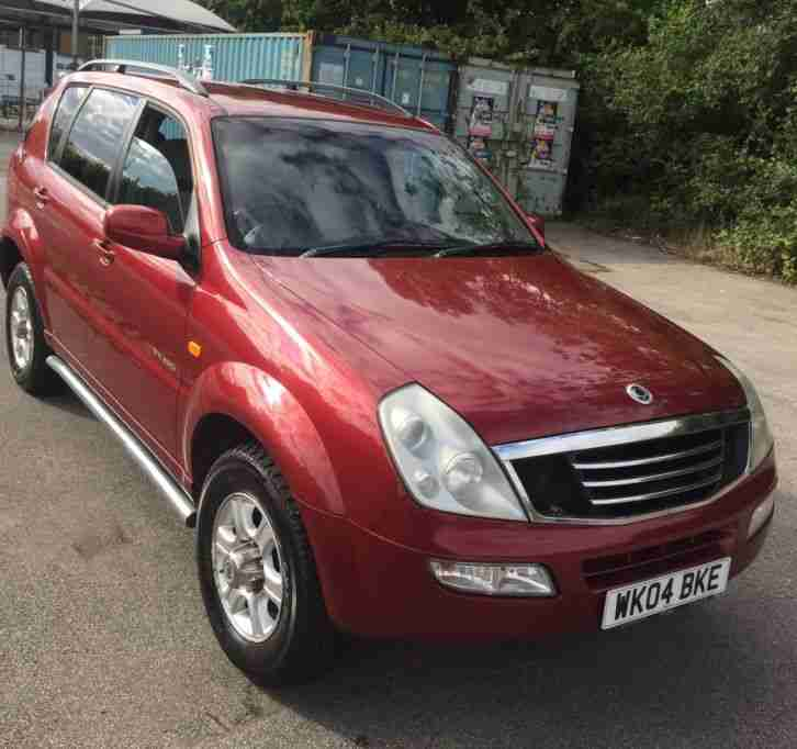Ssangyong NO RESERVE. Ssangyong car from United Kingdom