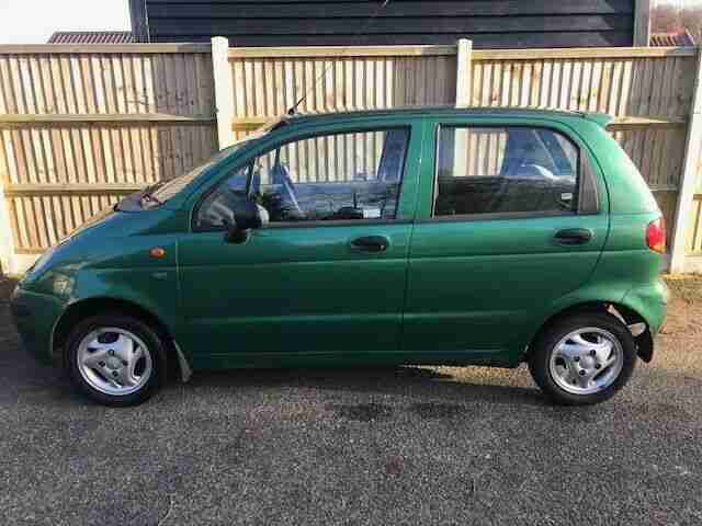 NOW SOLD !! VERY LOW MILEAGE (12K) DAEWOO MATIZ HATCHBACK.1 owner,full history