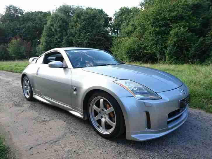 Nissan 350Z GT Factory NISMO 44k Black Leather RAYS Alloys 6 Month Warranty