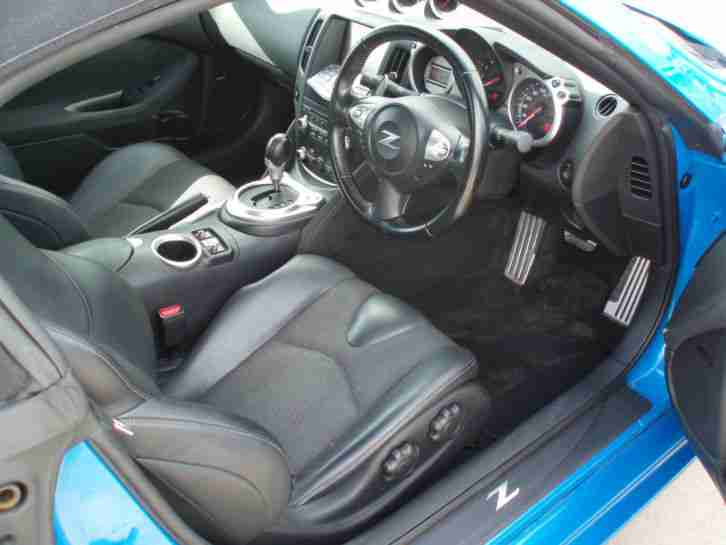 Nissan 370Z 3.7 auto CONVERTIBLE GT Pack DAMAGED REPAIRABLE SALVAGE 2011