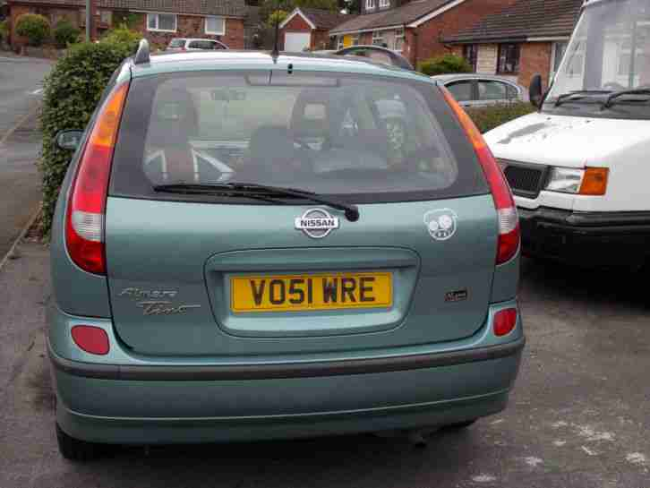 Almera Tino SE+ 2002 Spares or repair