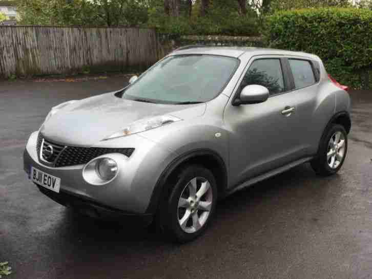 Nissan Juke 1.5. Nissan car from United Kingdom