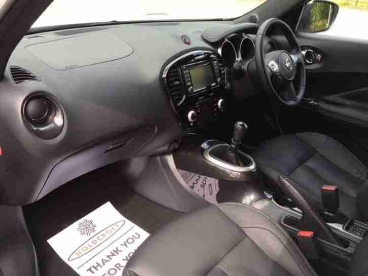 Nissan Juke Diesel Hatchback 1.5 dCi Tekna 5dr Co Diesel Manual