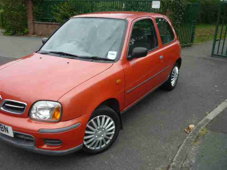 Nissan Micra 1.0 16v 2001MY S. car for sale