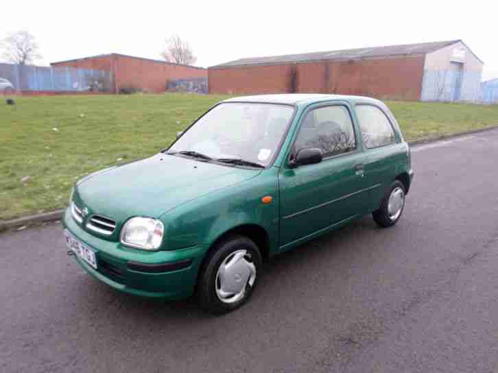 Nissan Micra 1.0. Nissan car from United Kingdom