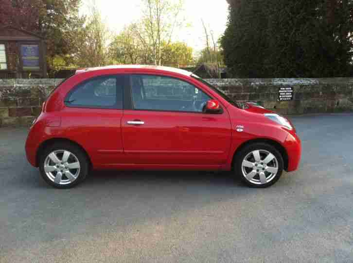 nissan micra 1 2 3dr petrol n tec spec car for sale. Black Bedroom Furniture Sets. Home Design Ideas