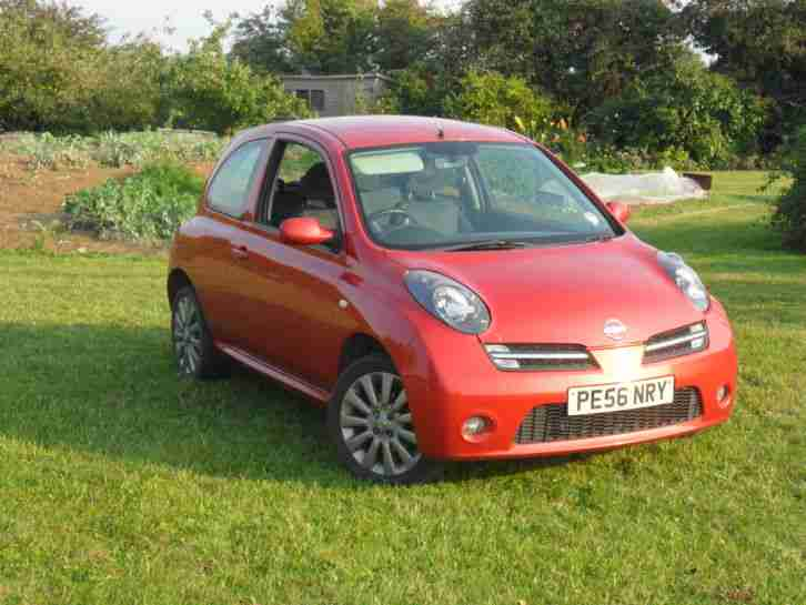 nissan micra 1 2 sport 2006 plate car for sale. Black Bedroom Furniture Sets. Home Design Ideas