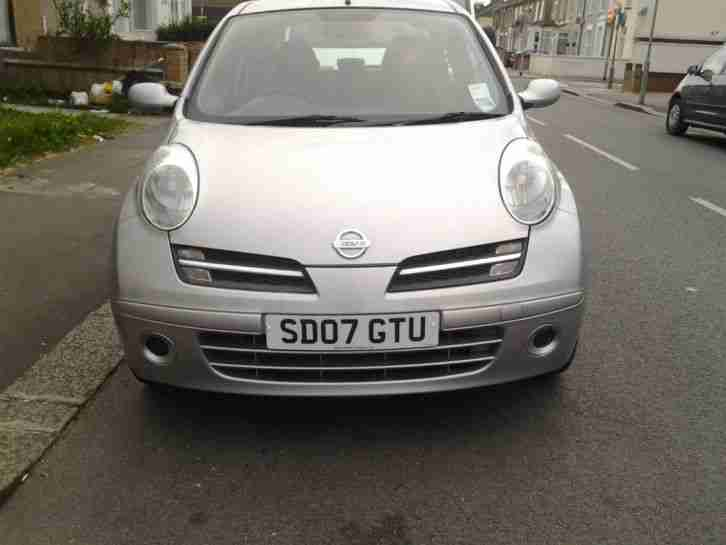 nissan micra 2007 automatic long mot beautiful car car for sale. Black Bedroom Furniture Sets. Home Design Ideas