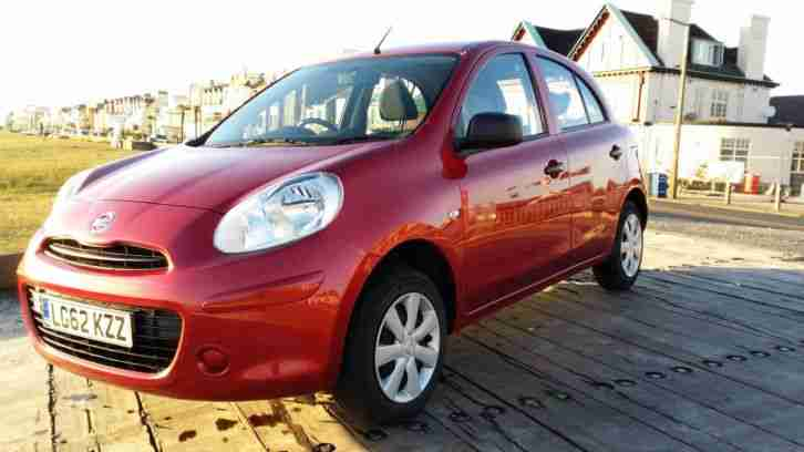 Nissan Micra 2012 62 Reg 1.2 12v Visa 5 door 10k miles Damaged Repaired Cat D