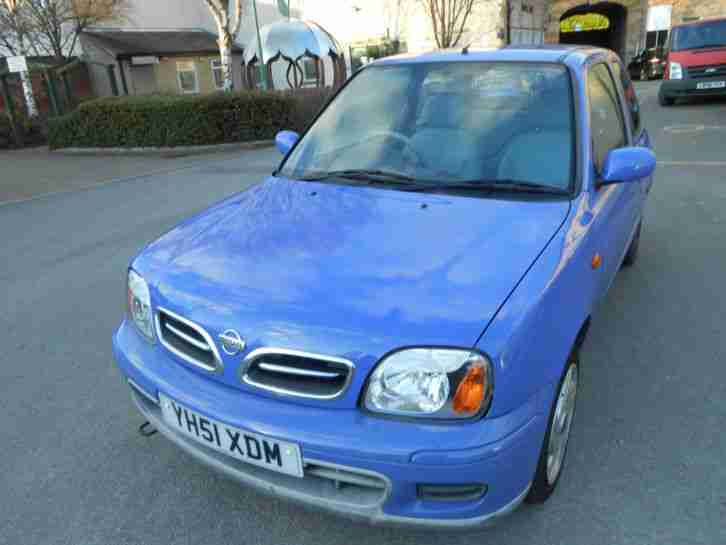 Nissan Micra Activ 1.4 Petrol.Blue.3 Door hatch.2001.Clean,Tidy and Reliable.
