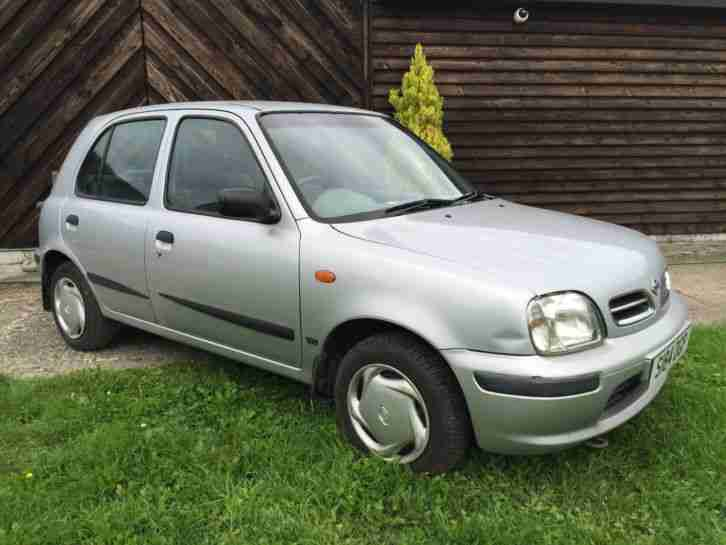 Nissan Micra, New MOT, Great value car, Cheap, 77,000 miles