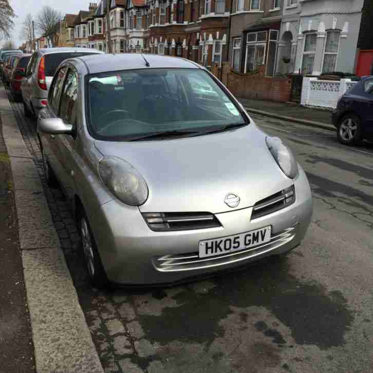 Nissan Micra Urbis. Nissan car from United Kingdom
