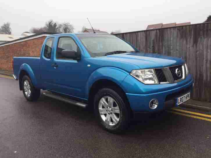 Nissan Navara 2.5 dCi SE King Cab Pickup 2dr 2007 ONLY 70K NO VAT