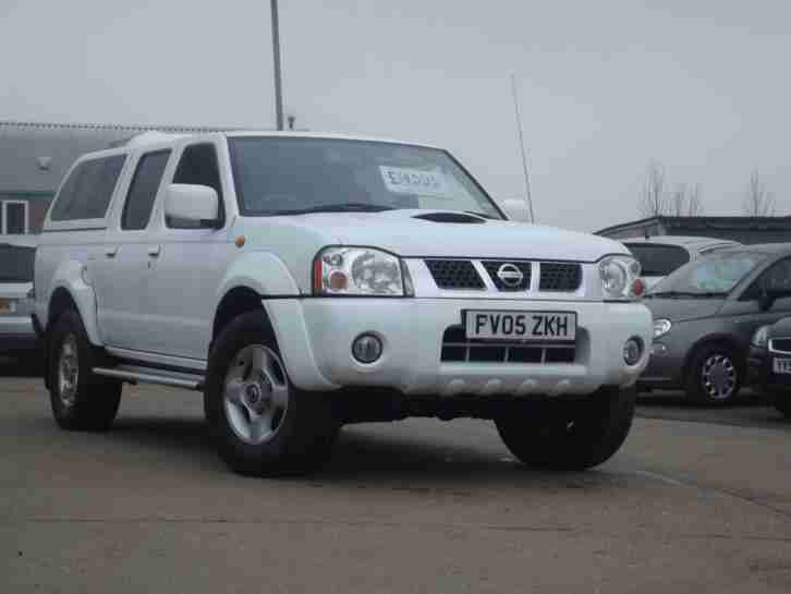 Nissan Navara 2.5Di Sport, DOUBLE CAB PICK UP 2005, ONLY 79000 MILES