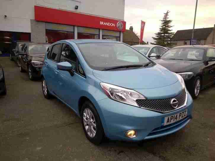 Nissan Note 1.2. Nissan car from United Kingdom