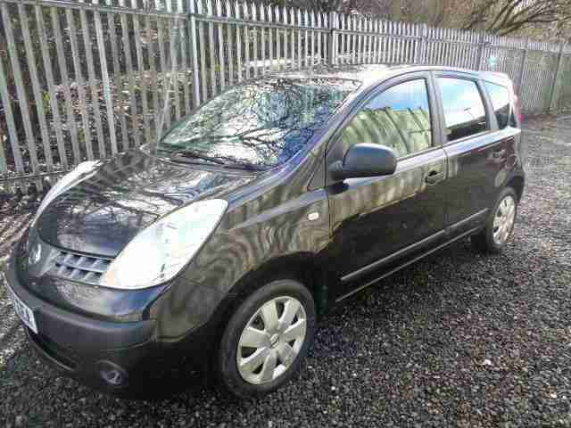 Nissan Note 1.4. Nissan car from United Kingdom