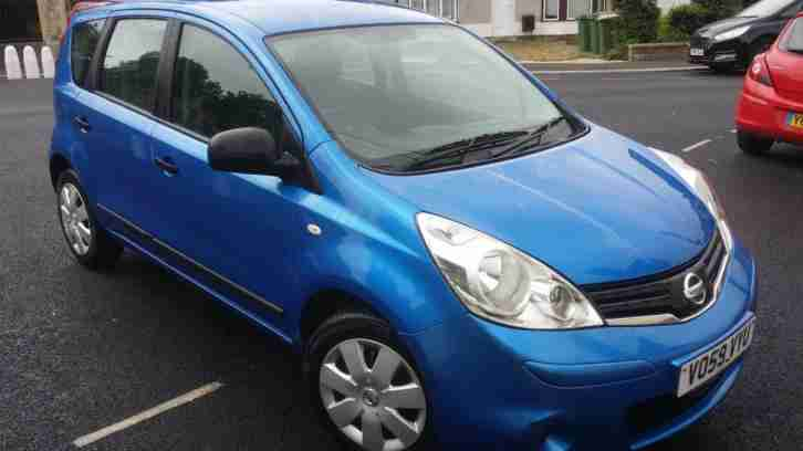 Nissan Note 1.4 16v 2011MY Acenta auto drive excellent condition only 2499 ono