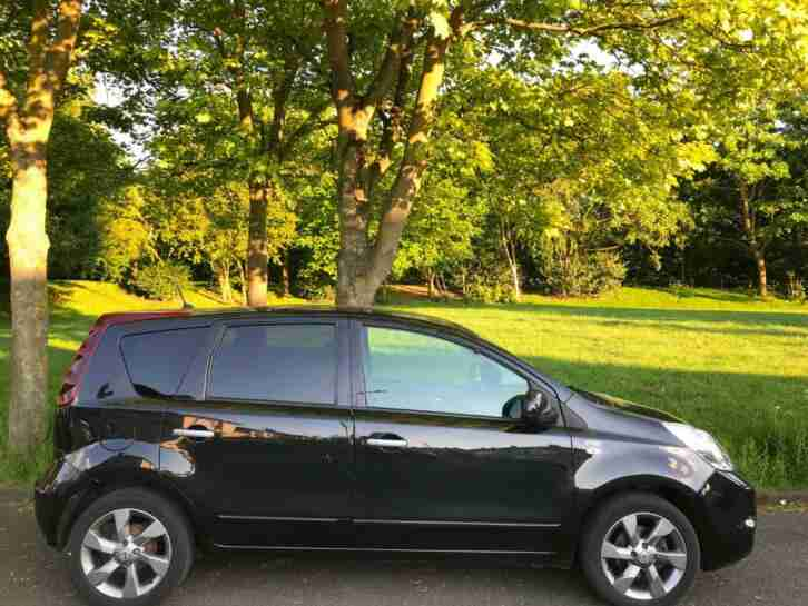 Nissan Note 1.5dCi. Nissan car from United Kingdom