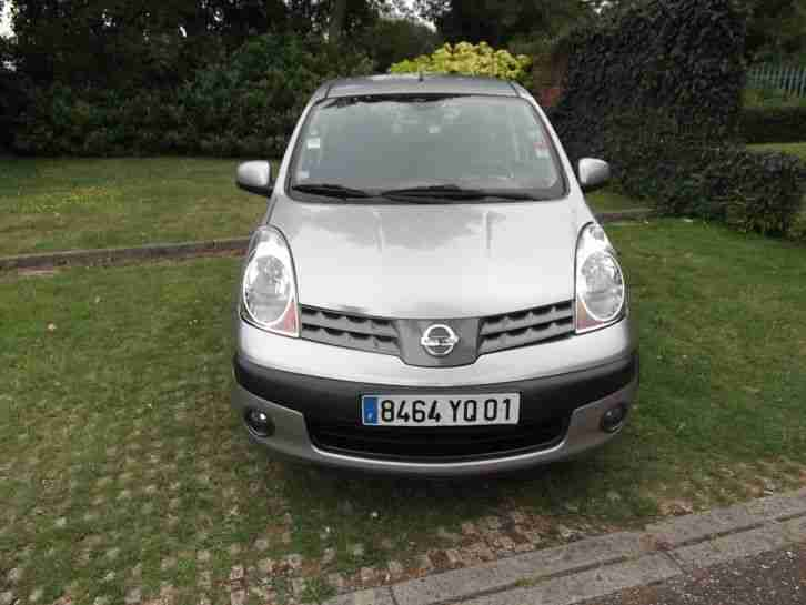 Nissan Note 1.5dCi FRENCH LEFT HAND DRIVE Acenta LHD