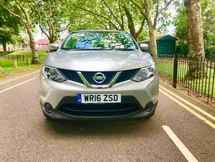 Nissan Qashqai 1.5dCi. Nissan car from United Kingdom