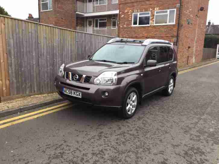 Nissan X-Trail 2.0 dCi SPORT 148 LADY OWNER GREY 2009