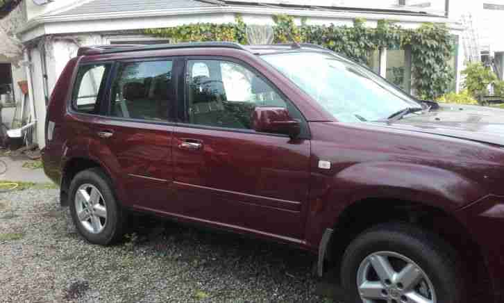 Nissan XTrail 2.2. Nissan car from United Kingdom