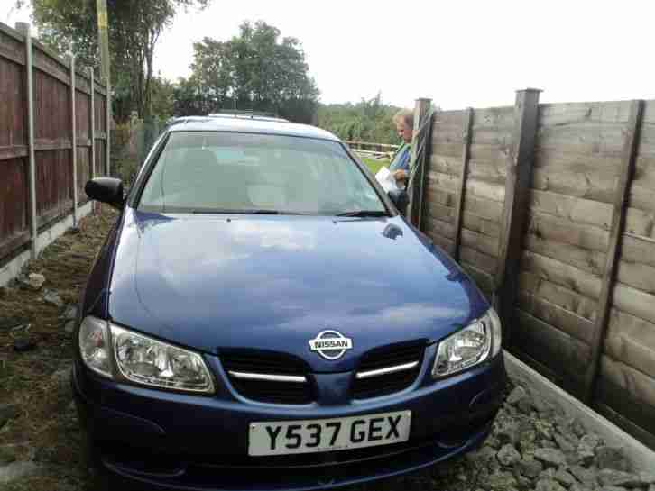 Nissan almera 1 5 activ 2001 long mot nice drive cheap car 99p start no reserve