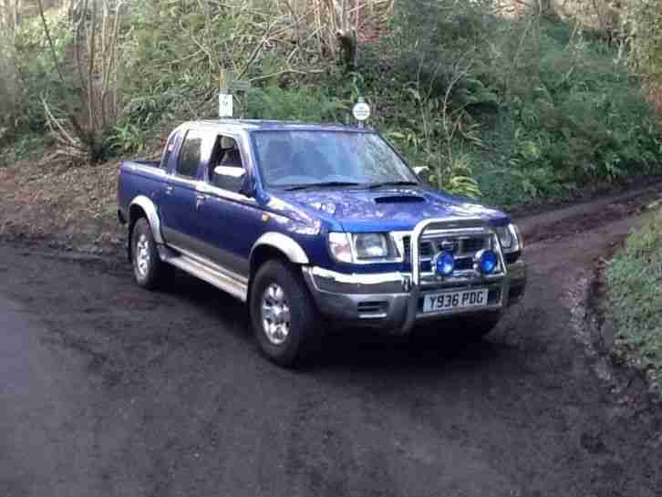 Nissan Navara D22. Nissan car from United Kingdom