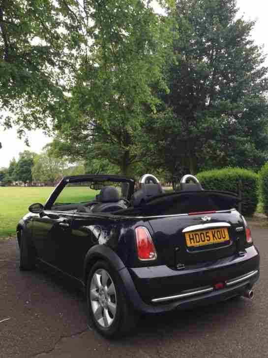 OMG 2005 BLACK 1.6 MINI CONVERTABLE 99P START & NO RESERVE!!! 3 DAY AUCTION!!!