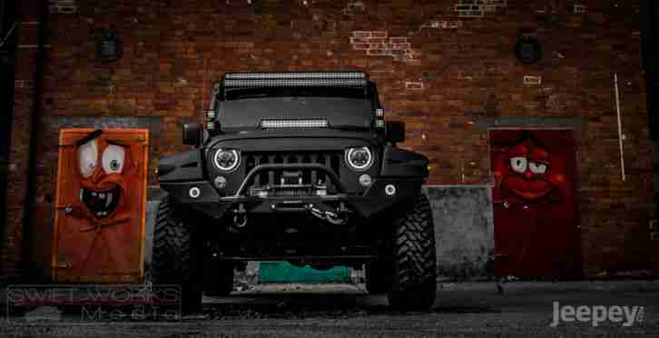 ONE OFF AWESOME JEEP WRANGLER CUSTOM BY DIABLO