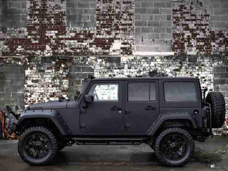 ONE OFF AWESOME JEEP WRANGLER CUSTOM BY DIABLO. car for sale