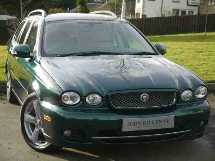 ONLY 34000 Jaguar X Type 2.0 D SE Estate 1 OWNER FULL SERVICE HISTORY