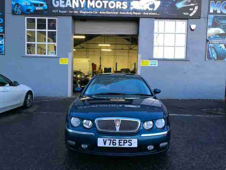 ONLY 48000 GENUINE MILEAGE AUTOMATIC ROVER 75 FULL YEAR MOT_SERVICED