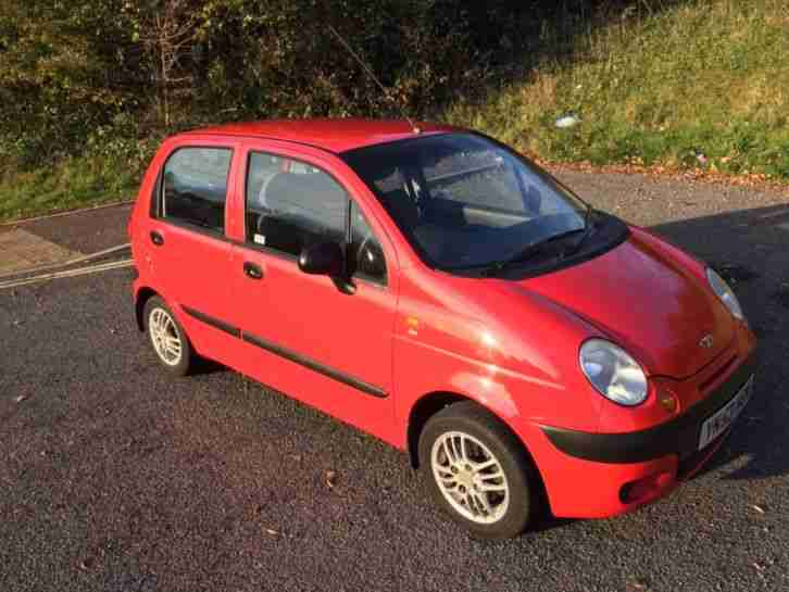 Only 30,000 Miles 2003 Daewoo Matiz Xtra. Full Service History with 14 Stamps