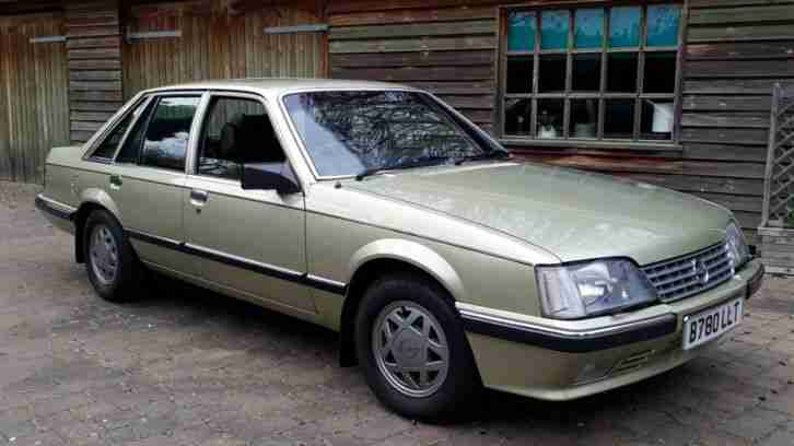 Opel Senator 2.5 i E Manual 1984 1 Owner 62k